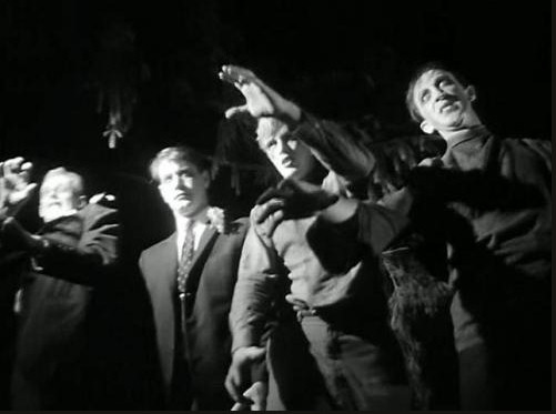 Scene from Night of the Living Dead